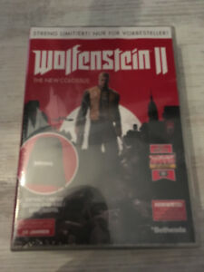 Wolfenstein-2-Limited-Vorbesteller-Box-inkl-Gym-Bag-NEU-amp-OVP-KEIN-SPIEL