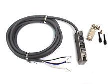 10pc Fotek MF-06R Fiber Sensor Amplifier Unit 10~30VDC NPN PNP Dual Out t=0.2mS