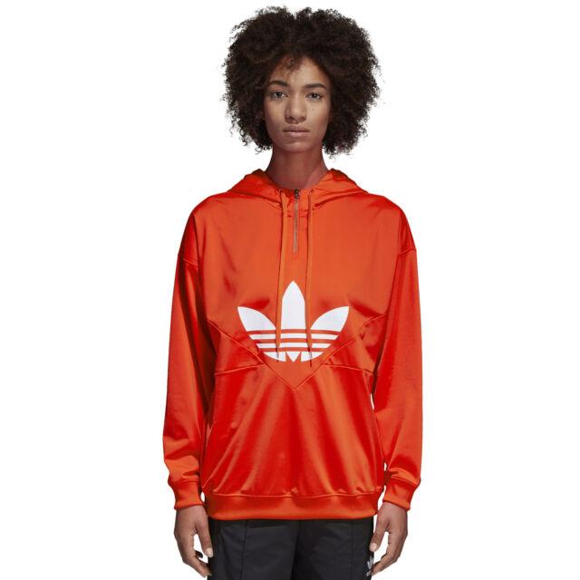 adidas orange hoodie damen