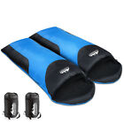 Double Outdoor Twin Sleeping Bag Camping Envelope Thermal Tent Hiking Winter