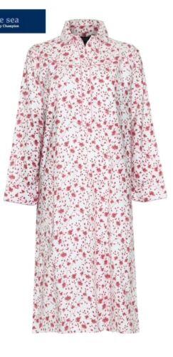 Femme Chaud Hiver Coton Brossé Winceyette nightdress-nightie Plus Taille S