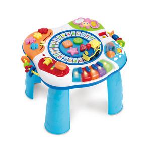 ABC-Zug &Klavier Spieltisch Babyspielzeug Motorik Spielzeug Spielcenter Geschenk