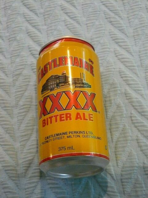 Vintage Castlemaine Perkins Australian Bitter Ale Beer Can