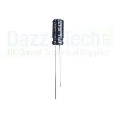 100uF Electrolytic Capacitor Radial Aluminium 20/% 105 deg Choose voltage /& Qty
