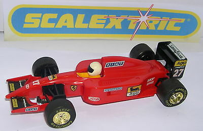 Kinderrennbahnen Inventive Scalextric C-410 Slot Car Ferrari 643 F1 #27 Alain Prost Mint Unboxed Long Performance Life Elektrisches Spielzeug