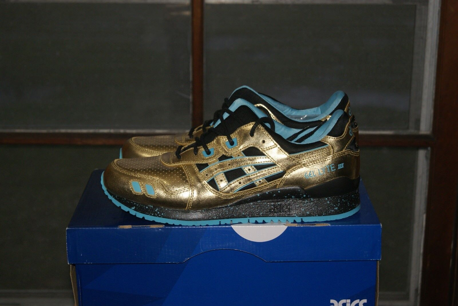 Mens iii Asics Gel Lyte iii Mens Gold Gold Sz 8 or 9 or 9.5 or 12 or 13 a2947c