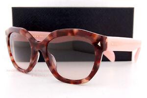 547d6cede327 Brand New Prada Sunglasses 12SS UE0 4K0 Havana Pink Gradient Grey ...