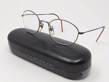 Giorgio Armani Eyeglass Frames 1023 1234 Full Rim Metal Round 49[]19-140