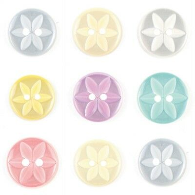 STAR BUTTONS Various Colours and sizes FREE P/&P