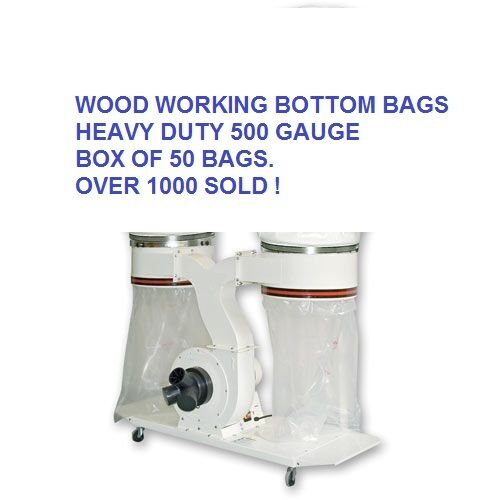 HEAVY DUTY Dust Extractor Collector Bags for Woodwaste Extraction Free Post