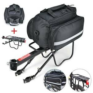 Bicycle-Rear-Seat-Bag-MTB-Pannier-Carrier-Rack-Kits-Removable-Carry-Saddle-UK