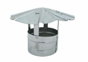 8 Billy Penn 8105 Galvanized Steel Roof Cap