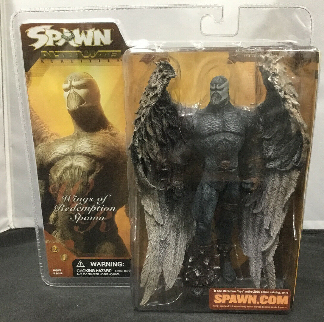 MCFARLANE SPAWN 21 ALTERNATE REALITIES WINGS OF rossoEMPTION SPAWN azione cifra