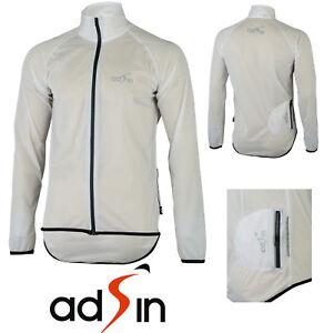 Men/'s Water// Wind Proof Cycling Running Outdoor Jacket Lightweight Reflective
