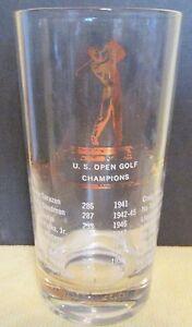 VINTAGE-1932-1952-U-S-OPEN-GOLF-CHAMPIONS-GLASS