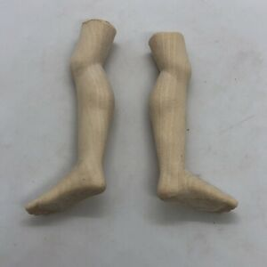 Coppia-Piedi-Gambe-Angelo-Statue-wood-Feet-restauro-pastori-statua-4-4-Cm-Pianta