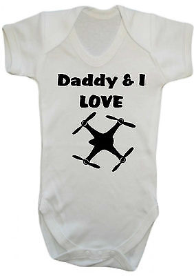 Novelty Me And My Dad Love Leicester City Baby Bodysuit Football