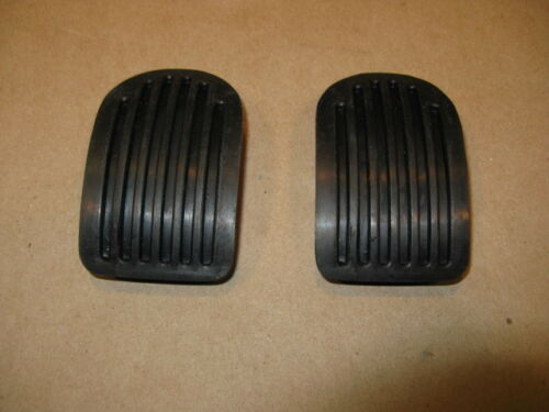 MGA MGB BRAKE /& CLUTCH Rubber Pedal Pads new 2pc Set