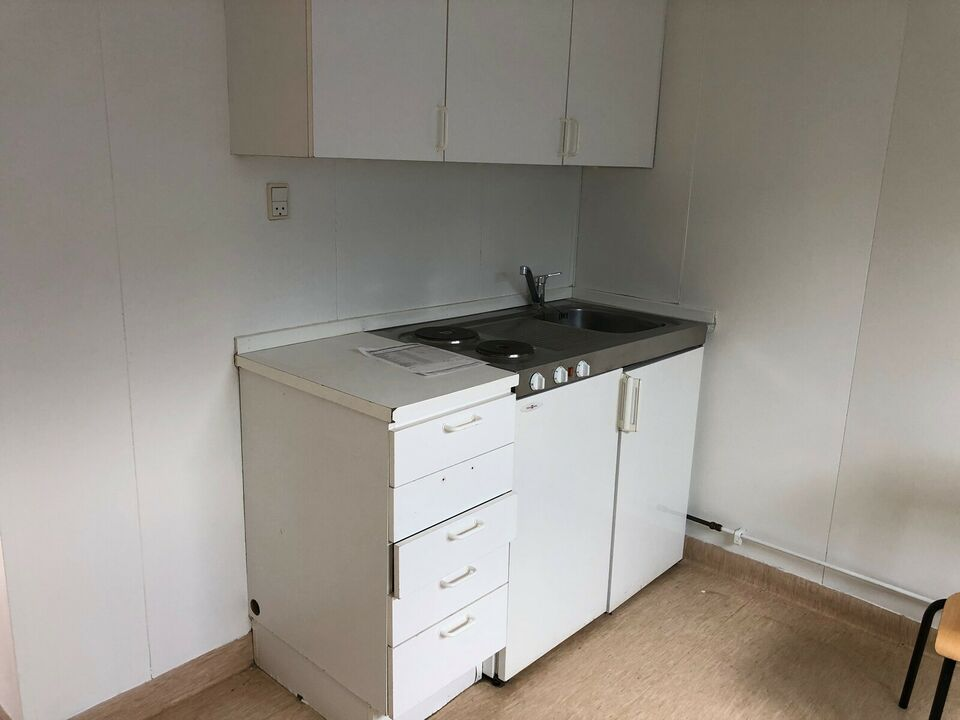 Beboelsesmodul med køkken bad toilet