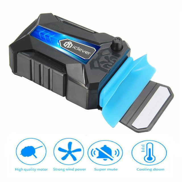 Mini Vacuum Air Extracting USB Cooling Pads Cooler Fan For Notebook Laptop PC