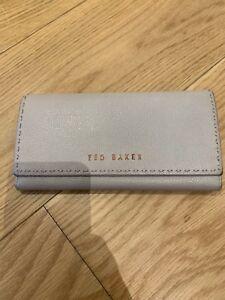 Wallet Purse Around Leather Beige Ted Baker Zip Stunning YqTSaU