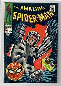 AMAZING SPIDER-MAN (Vol. 1) #58 – Grade 8.0 – JJJ Spider-Slayer!
