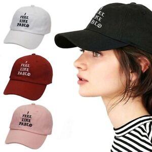 Kanye West I Feel Like Pablo Embroided Hat Snapback Baseball Caps ... 928ed8d3a22