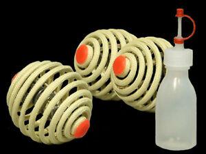 Set-of-3-80mm-Fyrefli-FyreBall-Fire-Juggling-Balls-with-Kevlar-Wicks