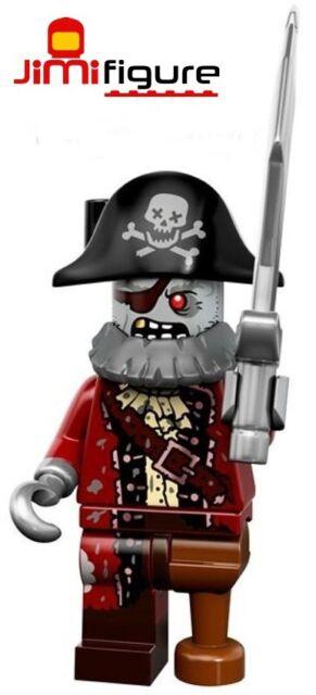 NEW LEGO Minifigures Zombie Pirate Series 14 71010 Monsters Minifigure Mini