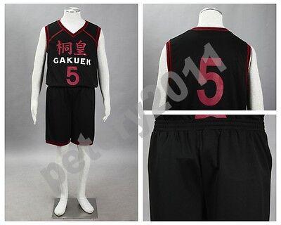 Kuroko no Basket Basuke Basketball Aomine Daiki Sportswear jersey costume
