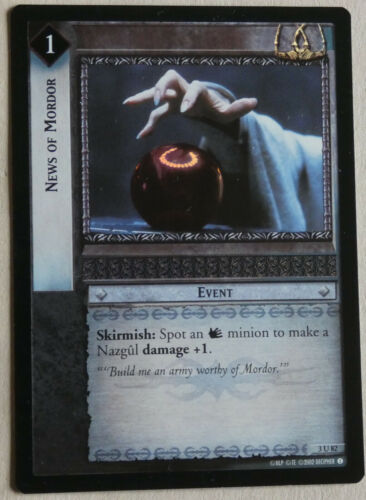 Lord of the Rings CCG Realms of the Elf Lords Foil Cards Part 1//1 LotR RotE TCG