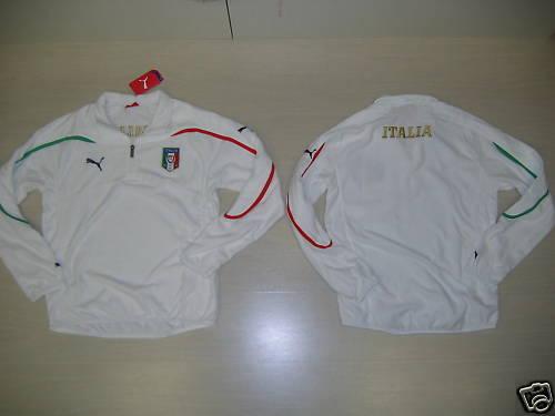0915 TG XS ITALIEN ITALY SWEATSHIRT TRAINING FLEECE VLIES TOP- TRAINING TOP- VLIES SCHWEIß e4cc7a