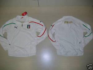 0915-TG-XS-ITALIA-ITALY-FELPA-ALLENAMENTO-IN-PILE-FLEECE-TRAINING-TOP-SWEAT