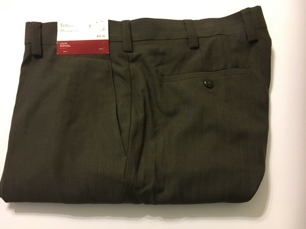 Louis Raphael Mens Dress Pants Modern Fit