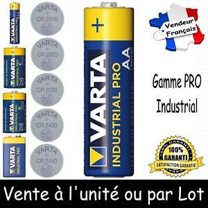 VARTA BULK AA Dispo aussi Piles CR 2016 2025 2032 2430 2450 LR03 LR14 LR20 6LR61