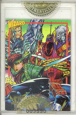 WIZARD MAGAZINE SERIES 3 1993 FACTORY SEALED GOLD PROMO CARD 9 CYBERNARY