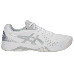 ASICS Men's Gel-Challenger 12 White/Silver Multi-Court Shoes 1041A045.113 NEW