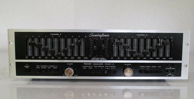 Soundcraftsman PE-2217 Preamp.-Equalizer / Vorverstärker Made in Califonia
