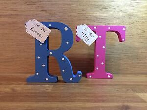 Image Is Loading 1st Birthday Gift Personalised Handmade Wooden Letter For