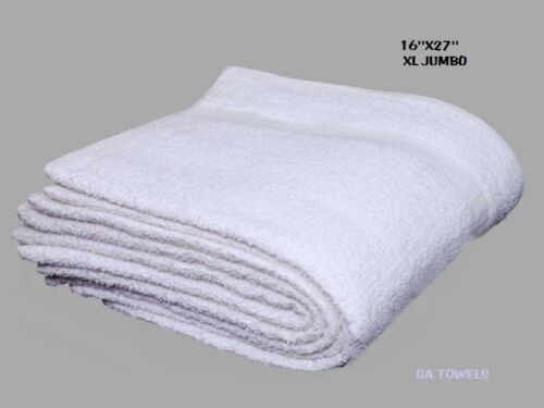 30 terry cloth jumbo cotton rib cleaning janitorial towels shop bar rags 16x27