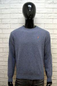 MARLBORO-CLASSIC-Maglione-Uomo-Maglia-Cardigan-Pullover-Felpa-Taglia-L-Sweater