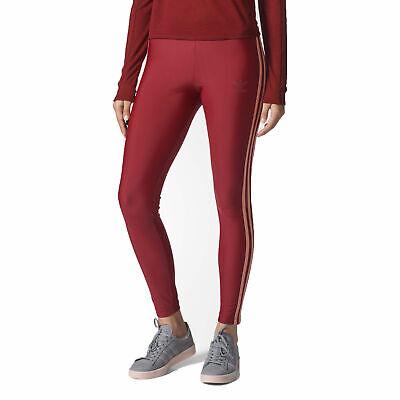 Adidas Originals Women's Tights Collegiate Burgundy bq7817 | eBay