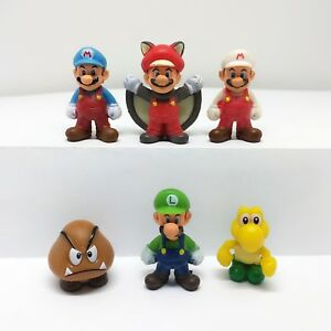 Super-Mario-Character-One-Coin-Figure-Set-Of-6-Approx-2-5cm