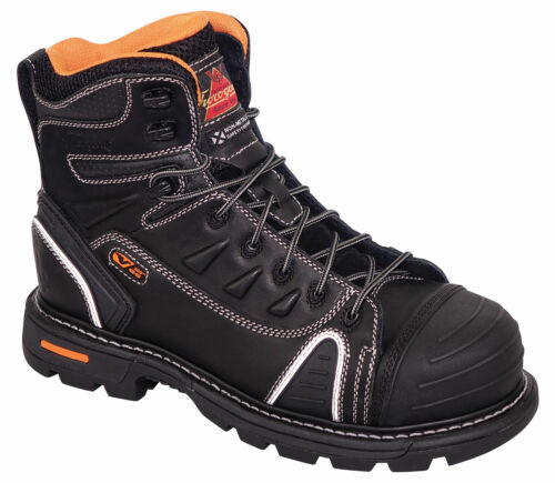 """Thorogood 804-6444 Gen-Flex2 6/"""" Lace-To-Toe Composite Safety Toe Work Boots"""