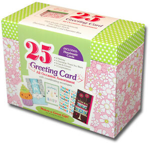 Paper magic box of 25 assorted all occasion embellished greeting image is loading paper magic box of 25 assorted all occasion m4hsunfo