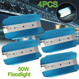4X-50W-LED-luz-de-inundacion-alta-Bahia-Impermeable-yodo-tungsteno-Lampara-al-Aire-Libre-160-240V