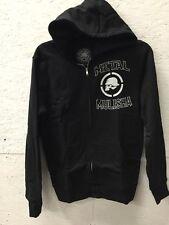 METAL MULISHA PROFILE ZIP UP HOODY BLACK Small $52.00 Retail New