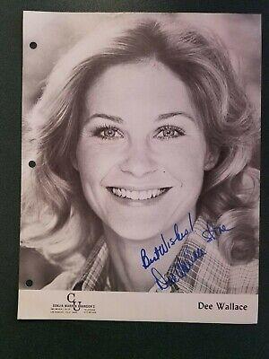 Entertainment Memorabilia Dee Wallace-signed Photo-coa 2019 Official