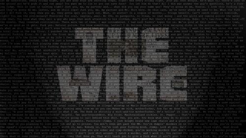 "020 The Wire Crime Drama TV Series Season Shows 43/""x24/"" Poster"