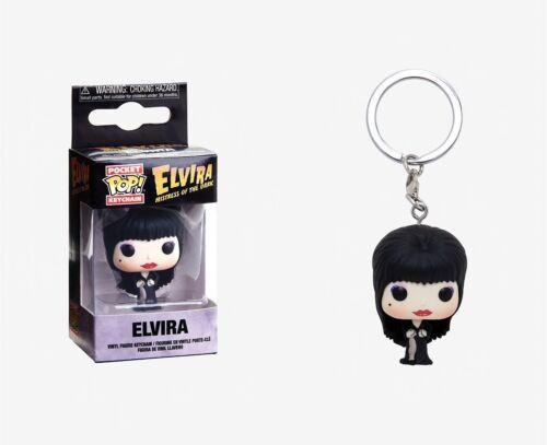 Elvira Vinyl Figure Funko Pocket Pop Keychain Elvira Mistress of the Dark
